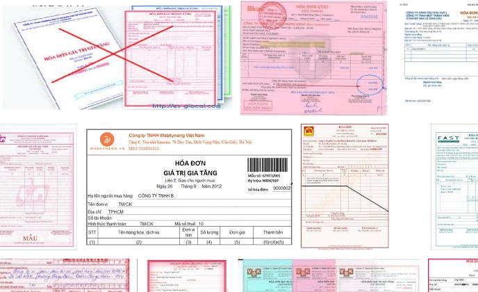 Khi xuất hóa đơn có được gộp tên các loại hàng hóa lại không?